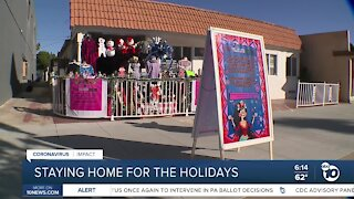 Latino community leaders pleading with people to stay home during the holidays