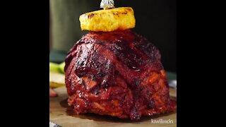 """Pastor al Trompo (Vertical spit roasted """"al pastor"""" marinated pork)"""
