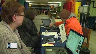 LWV hold voter registration sessions