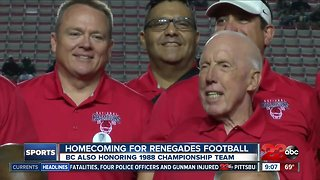 Bakersfield College honors 1988 championship football team