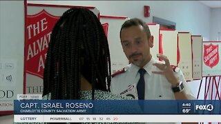 Charlotte County Salvation Army Captain raises money