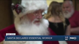 Santa declared an essential worker