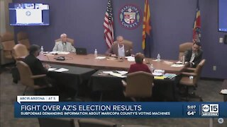 Some Republicans continue to challege Maricopa County's voting machines