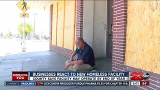 Bakersfield businesses react to new homeless facility