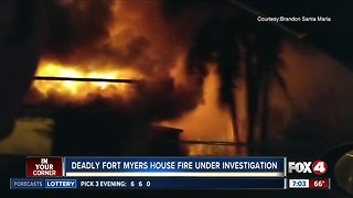 One dead in Fort Myers house fire overnight