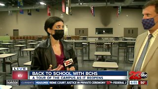 BCHS Repurposes Student Union Ahead of Reopening Wednesday