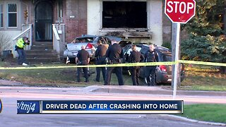 Man dead after police chase leads to crash, fire
