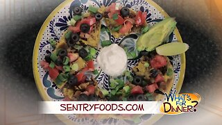 What's for Dinner? - Mexican Pizza