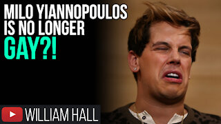 Milo Yiannopoulos Is No Longer GAY?!