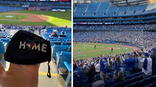 The Rogers Centre Looks Totally Different For The Blue Jays' Return To Toronto (VIDEO)