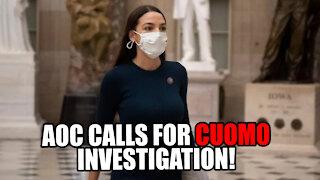 AOC Calls for FULL INVESTIGATION into Cuomo's Nursing Home Scandal