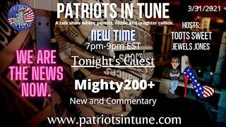 PATRIOTS IN TUNE #375: TOOTS SWEET & JEWELS JONES 5-27-2021