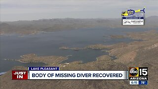 MCSO recovers body of missing diver