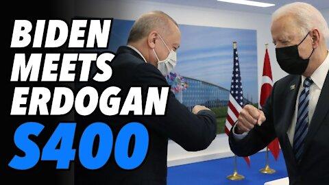 Biden meets Erdogan. Turkey will keep S-400s
