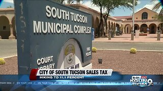 South Tucson Hikes Sales Tax over 11%