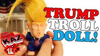 Mini Kaz: President Donald Trump Troll Doll Unboxing