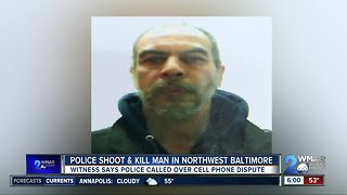 No officers injured, suspect dead in officer involved shooting in Northwest Baltimore