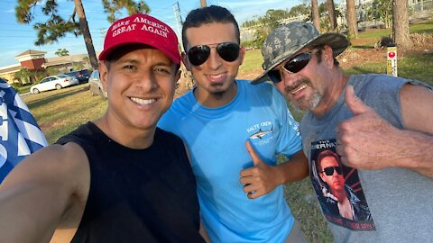 Flag-Waving Rally & DeBary Diner With @Paint The Trump 10/1 (Orange City, FL)