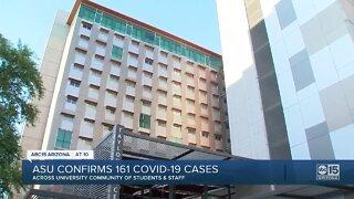 ASU confirms 161 COVID-19 cases