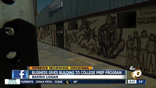 Barrio Logan business gives building to college prep program
