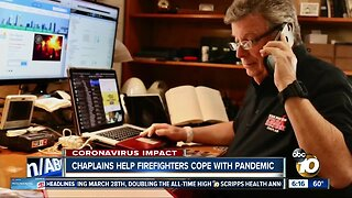 Chaplains help firefighters cope during pandemic