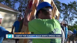 Habitat for Humanity builds Bonita Springs home