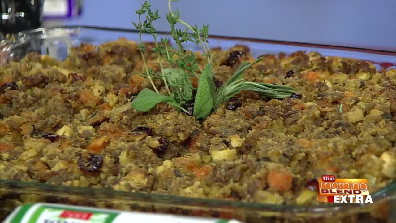 Blend Extra: Sweet and Savory Holiday Stuffing