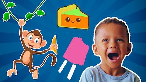 MÚSICAS INFANTIS COM CORUJARC | Five little monkeys | Johny Johny Yes Papa | Compilation