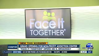 Grand opening for non-profit addiction center