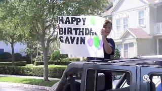 """Jupiter mom throws son a """"quarantine birthday parade"""""""