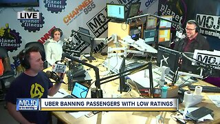 Mojo in the Morning: Uber banning passengers with low ratings