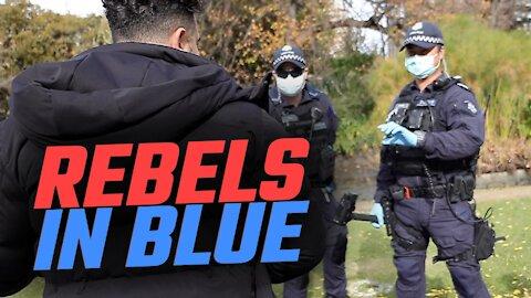FUNNY: Police officer stops Avi Yemini for a job offer at Rebel News
