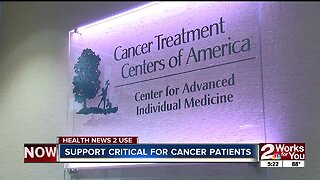 Health News 2 Use: Support is critical for cancer patients