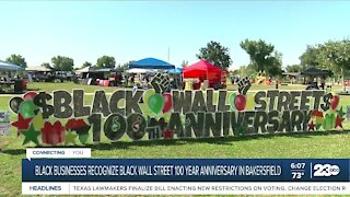 NAACP Bakersfield and Black owned businesses commemorate 100th anniversary of Black Wall Street