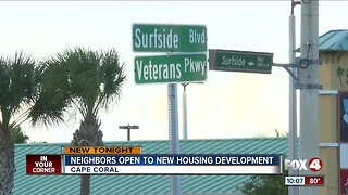 Neighbors on board with more housing in Cape Coral