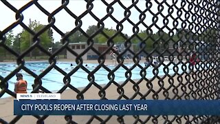 Cleveland city pools reopen at limited capacity for the summer