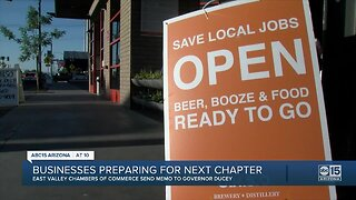 Businesses seek guidance from Governor's office, make suggestions about re-opening economy