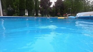 Swim lessons at home