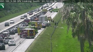 Injured airlifted after Turnpike crash