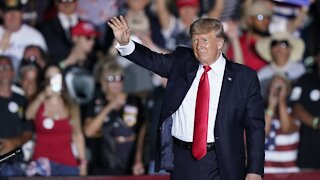 In Return To Rally Stage, Trump Claims 'Fight Has Just Begun'