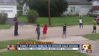 Family posts tribute to Officer Dale Woods