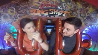 Marriage proposal taken to frightening new heights
