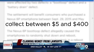 Can you get money from these lawsuit settlements?