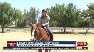 M.A.R.E. Therapeutic Riding Center looks to overcome COVID-19 to help veterans, children