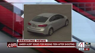 Amber Alert issued after 15-year-old goes missing after shooting