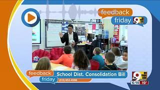 Feedback Friday: School district consolidation bill