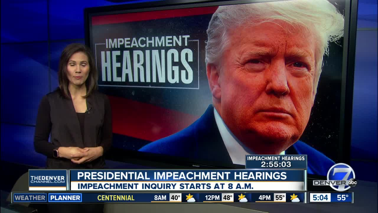 What to watch for during the Impeachment Hearings