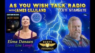Elena Danaan - As You Wish Talk Radio - Epic Must See...