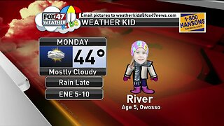 Weather Kid - River