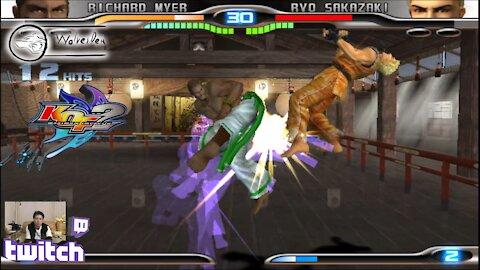 (PS2) KOF Maximum Impact 2 - 24 - Richard Meyer - Lv Gamer